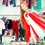 Ladys sale — Stock Photo