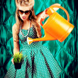 Watering can — Stock Photo