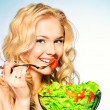 Stock Photo: fresh salad&quot