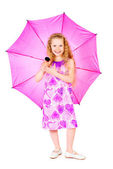 Summer umbrella — Stock Photo