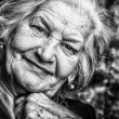 Stock Photo: Happy old woman