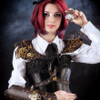 Stock Photo: Steampunk model