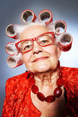 Old fashionista — Stock Photo