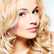 Wavy hair — Stock Photo
