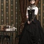 Victorian lady — Stock Photo #42749095