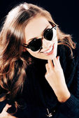 Sunglasses advert — Stock Photo
