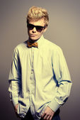 Man in bow-tie — Stockfoto