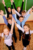 Joyful kids — Stock Photo