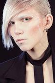 White brows — Stock Photo