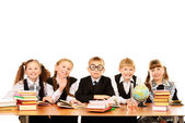 Schoolchildren — Foto Stock
