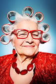 Modern granny — Stock Photo