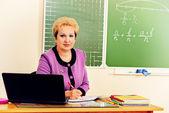 Woman teacher — Stock Photo