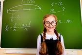 Girl student — Stock Photo