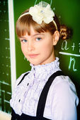 Good schoolgirl — Stock Photo