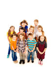 Standing children — Stock Photo