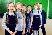 Grupo de crianças em idade escolar — Foto Stock