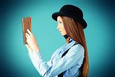 Bookworm — Stock Photo