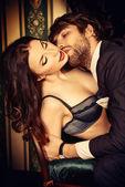 Vášnivý pár — Stock fotografie