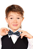 Elegant kid — Stock Photo