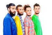 Bearded men — Stock Photo