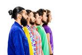 Bearded — Stock Photo
