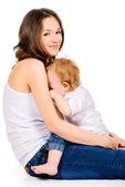 Allattamento al seno — Foto Stock