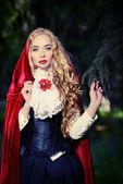 Red cloak — Stock Photo