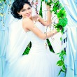 Playful bride — Stock Photo #48914491