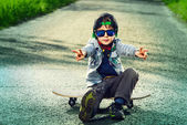 Kids style — Stock Photo