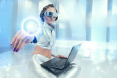 Futuristic life — Stock Photo