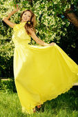 Sunny dress — Stock Photo