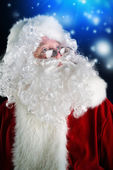 Santa glasses — Stock Photo