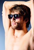 Black sunglasses — Stockfoto