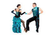 Rumba people — Stock Photo
