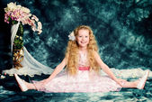 Menina boneca — Foto Stock
