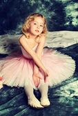 Small ballerina — Stock Photo