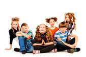Kids together — Stock Photo