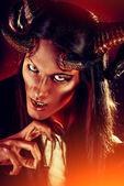 Ancient demon — Stock Photo