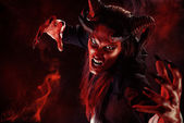Devil portrait — Stock Photo
