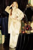 Aristocratic lady — Stock Photo