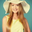 Smiling to summer — Stock Photo