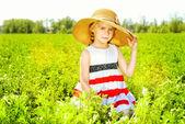 Kid leisure — Stock Photo