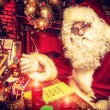 Santa claus home — Stock Photo #51084349