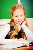 Pretty schoolgirl — Stock Photo