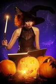 Pumpkin spell — Stock Photo