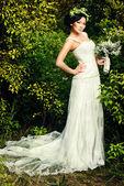 Lux bride — Stock Photo