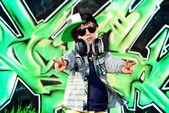 Rocker boy — Stock Photo