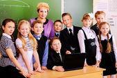 School years — Stock Photo