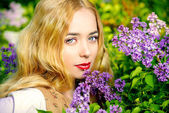 Lilac country — Stock Photo