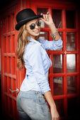 Tourist london — Stock Photo